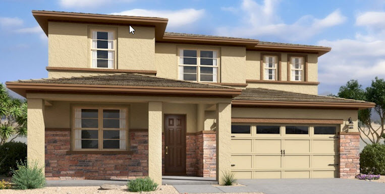 new construction homes in Marley Park, Surprise, AZ