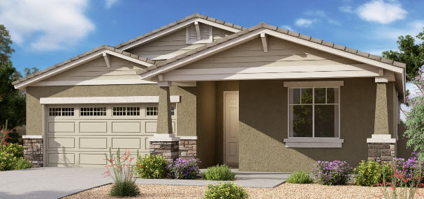 new home build community north peoria, arizona with incentives and low down payment options
